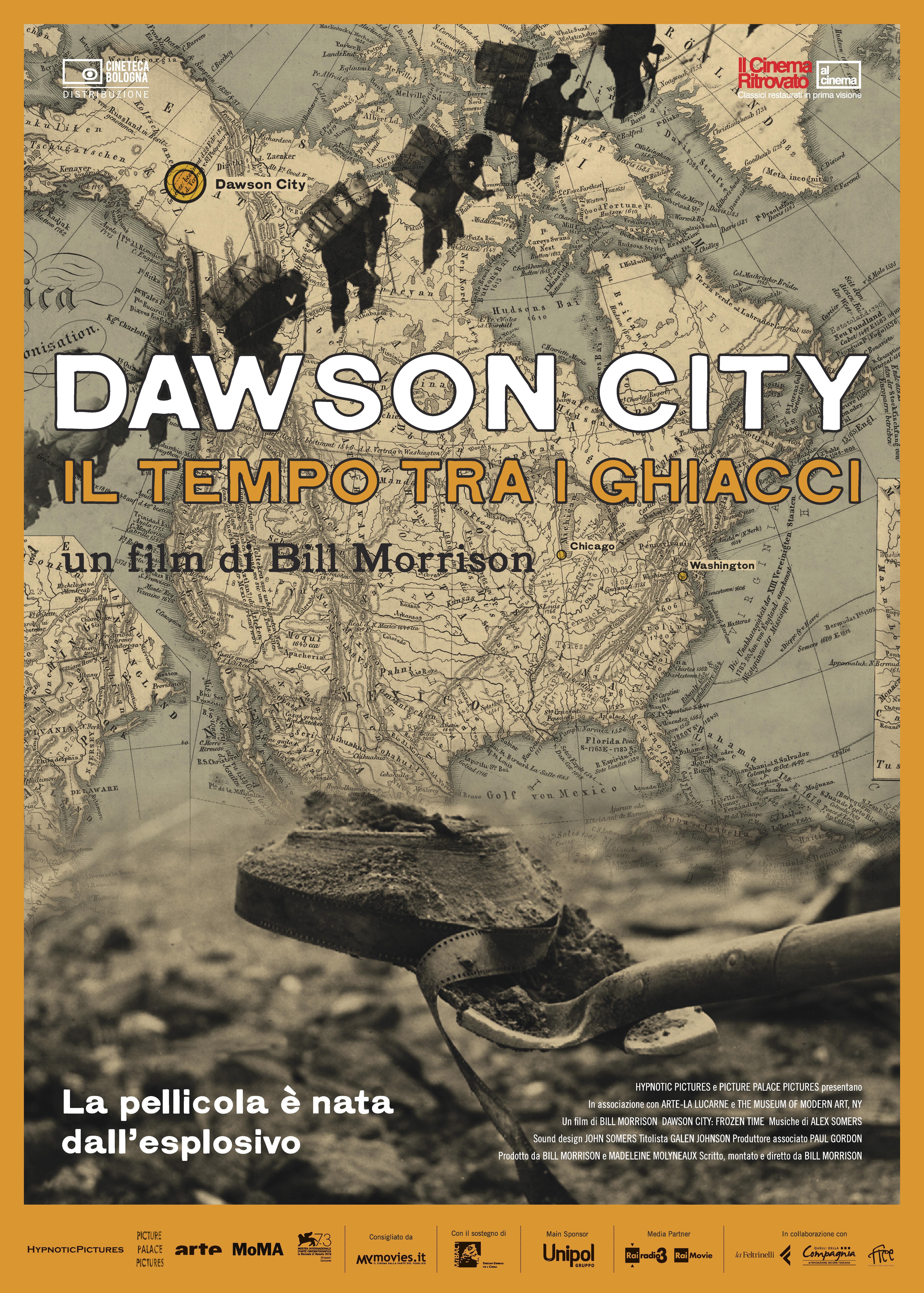 Dawson City - il tempo tra i ghiacci