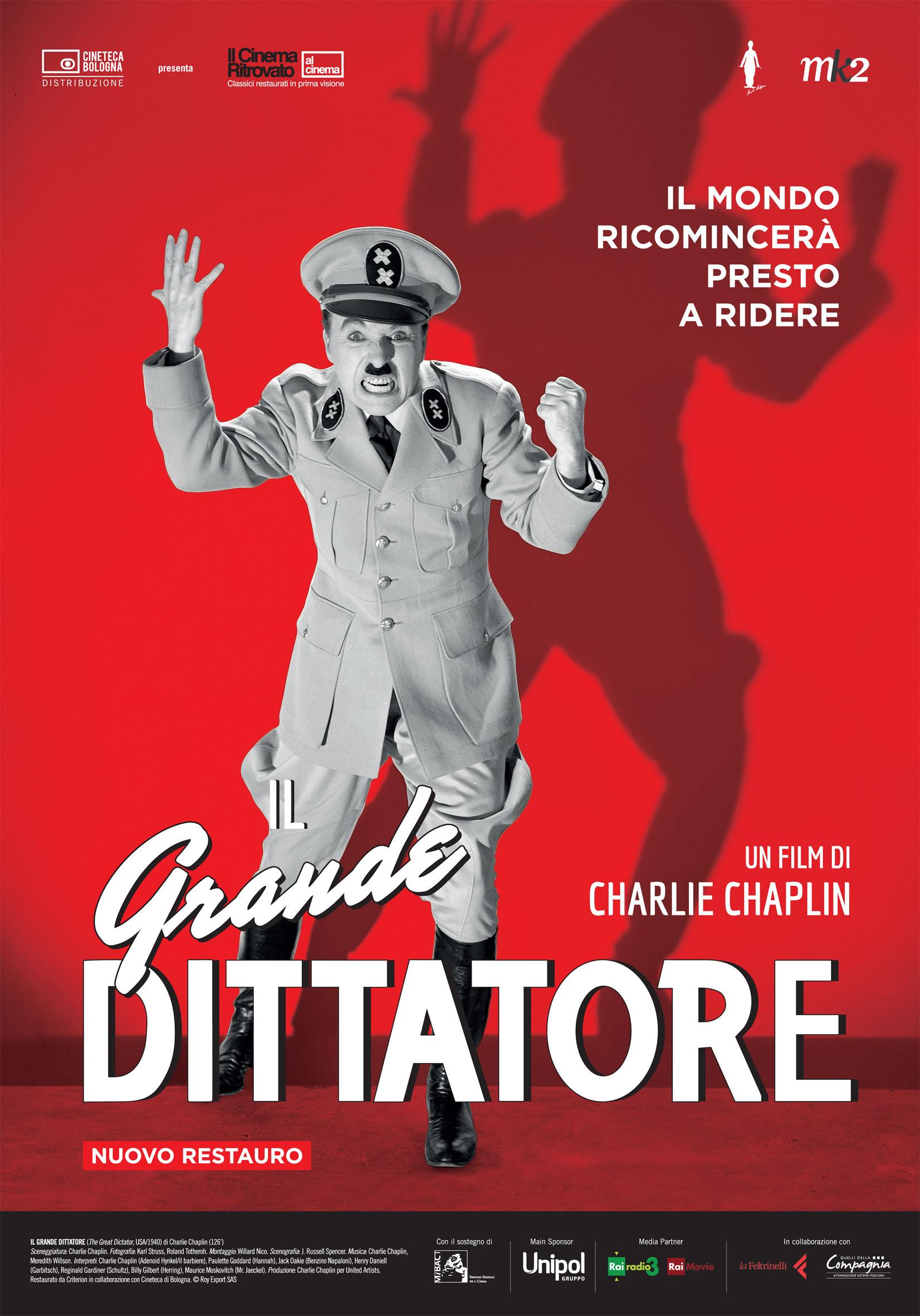 The Great Dictator - Il Grande Dittatore (Rassegna